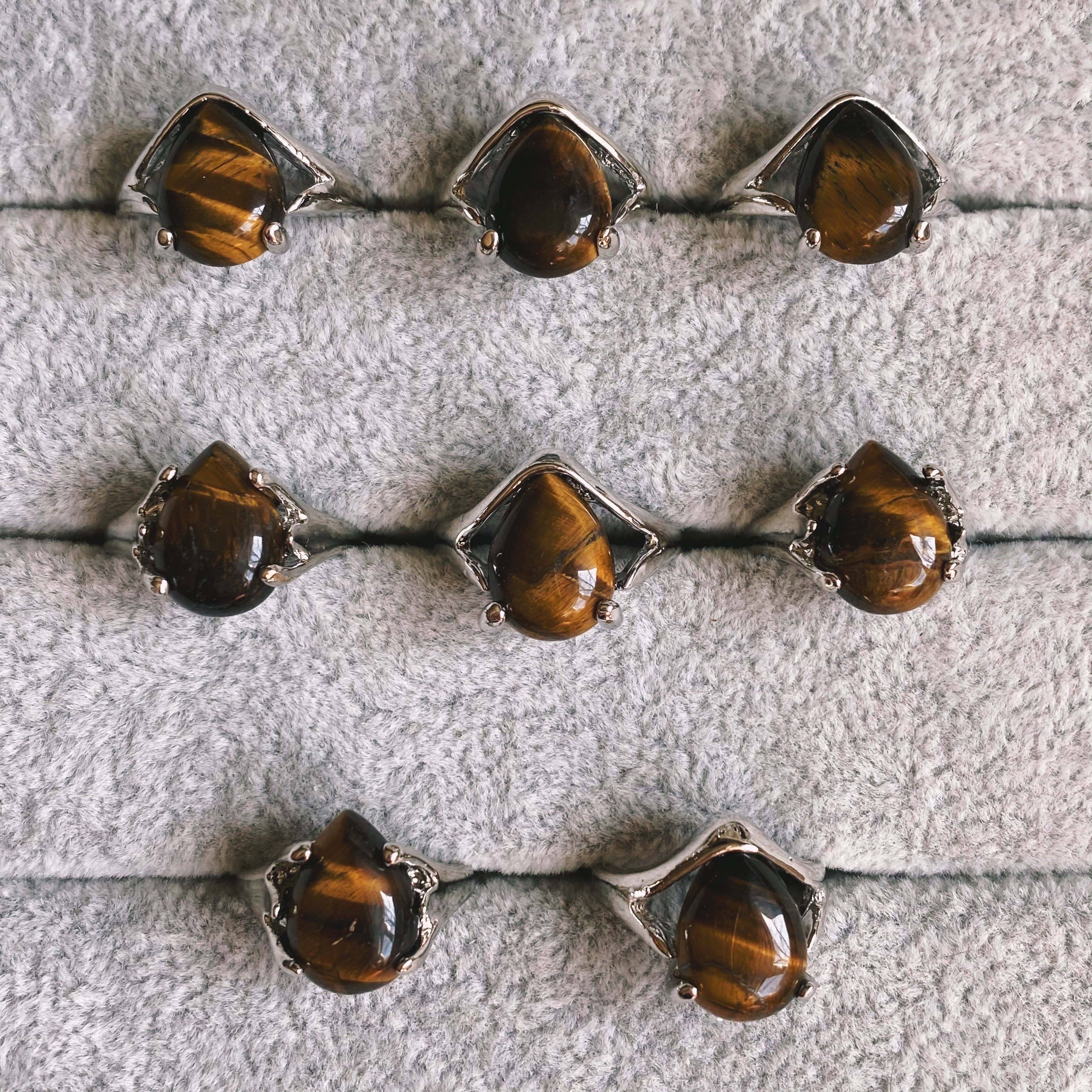 (1) Tigers Eye Ring