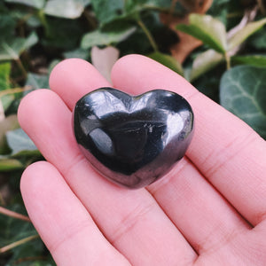 (1) Shungite Heart