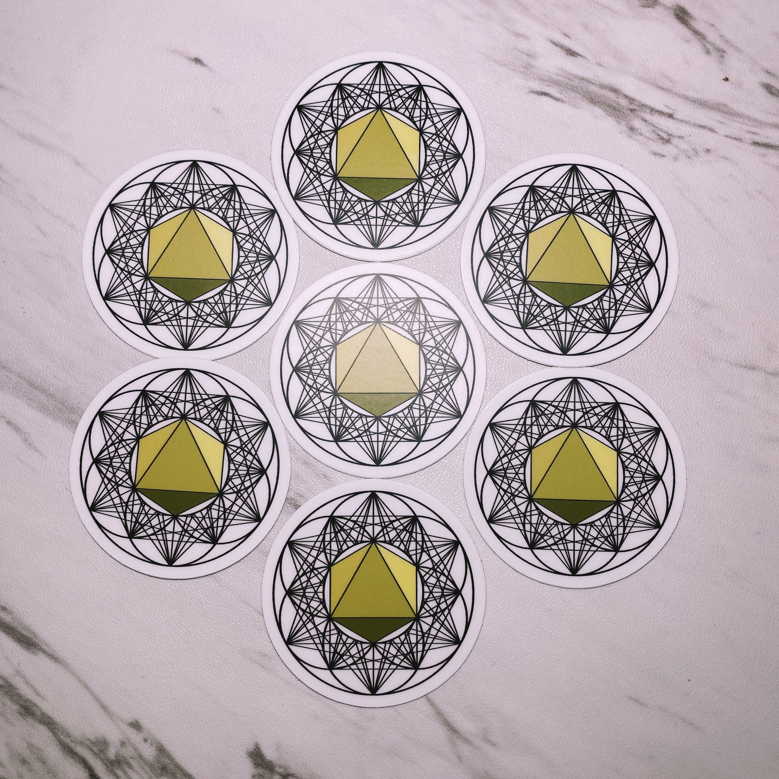OCTAHEDRON Sticker