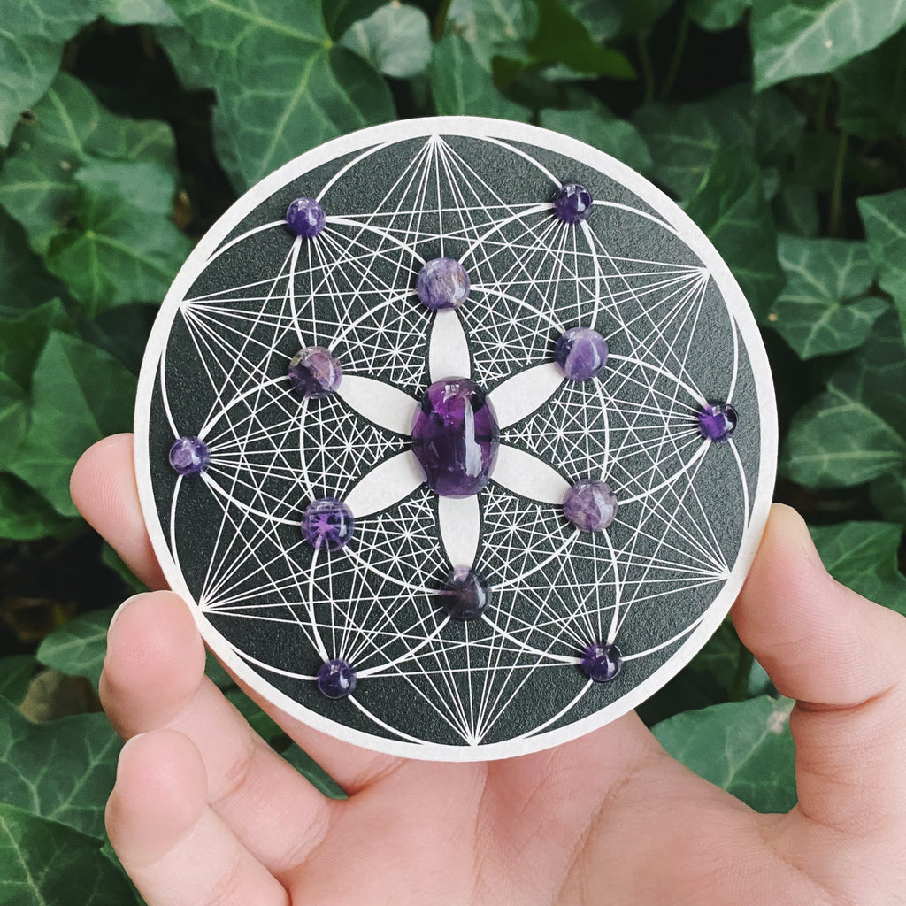 ULTRAVIOLET DREAMS Crystal Grid