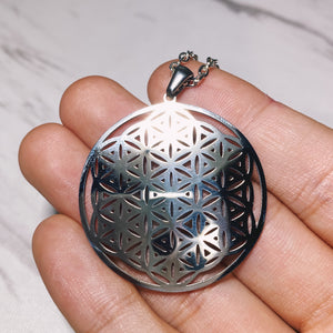 (1) Flower Of Life Pendant
