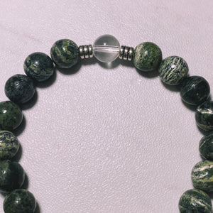 THE GREEN ZEBRA JASPER
