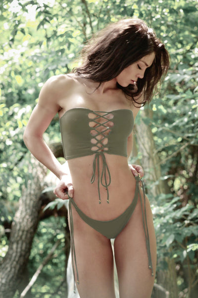 Ibiza Boho Swimsuit in Sage