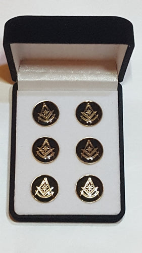 Past Master Button Covers (no cuff links)