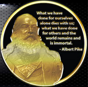 Albert Pike Commemorative