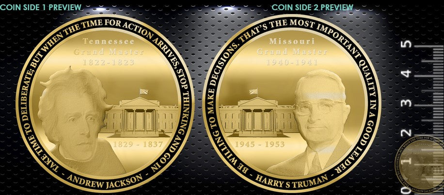 Jackson - Truman Commemorative Coin