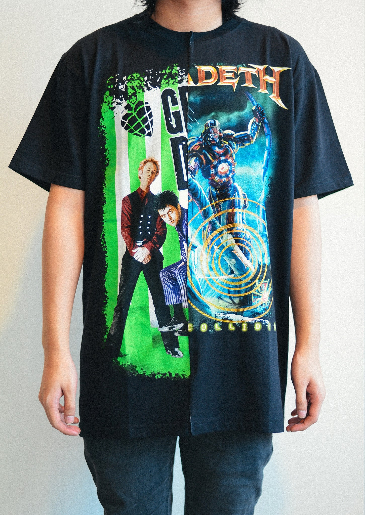 Rock Band Tee (Green Day / Megadeth)
