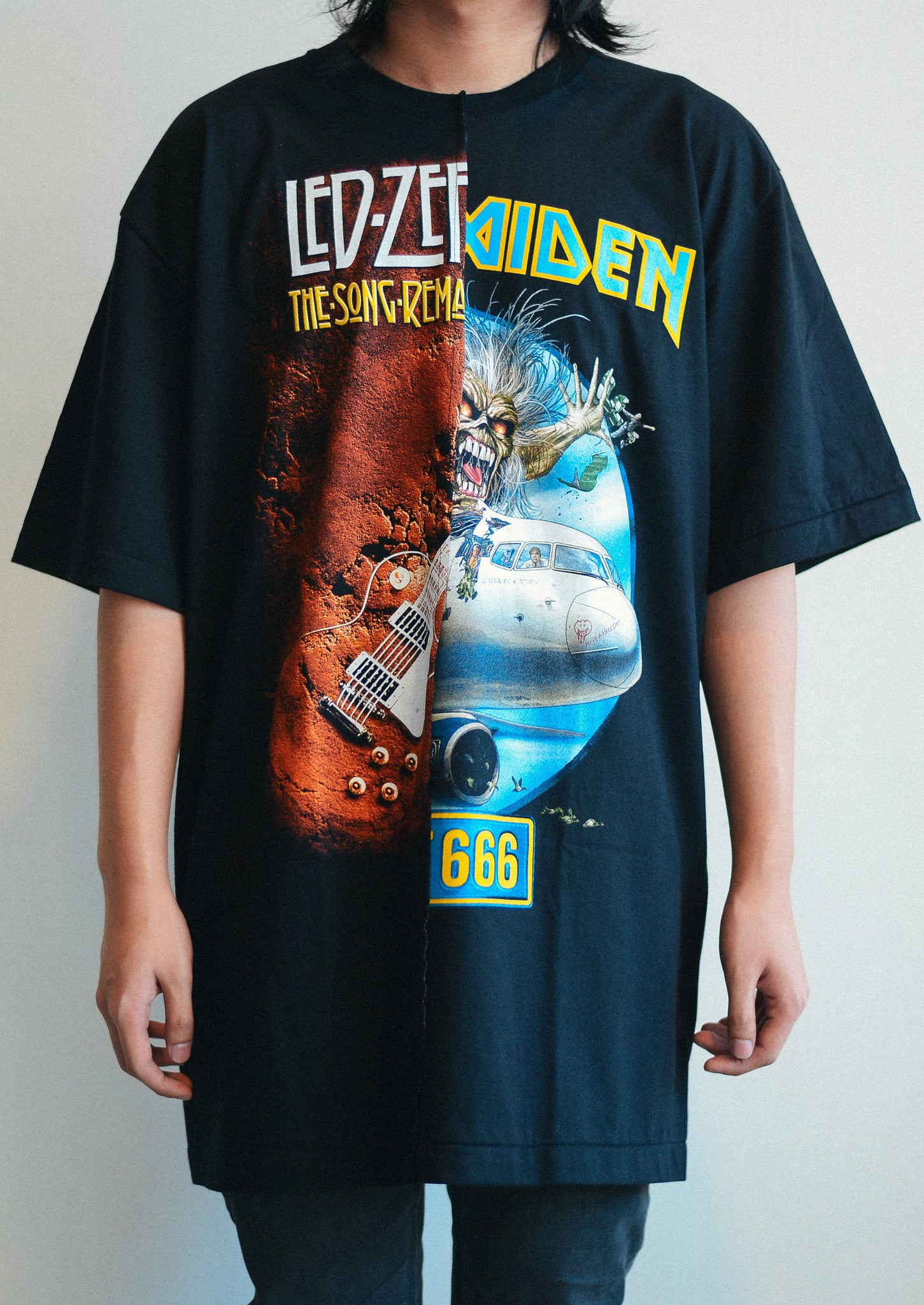 Rock Band Tee (Led-Zeppelin / Iron Maiden)