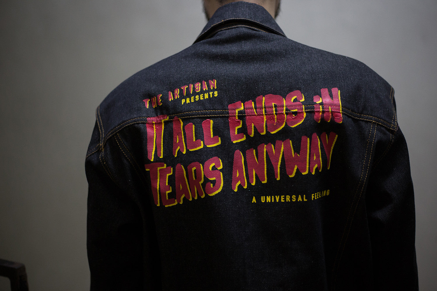 It All Ends - Denim Jacket