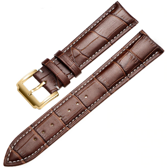 Soft Calf Genuine Leather Watch Strap W20_1