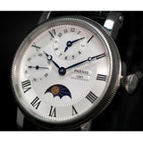 Parnis 42MM White Dial Mechanical Hand Winding Movement_7