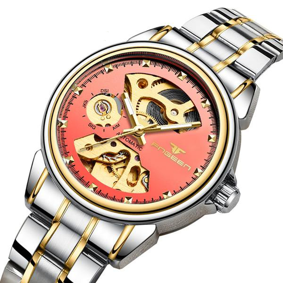 Hollow Skeleton Women Watch_1