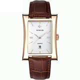 New Luxury Brand Quartz Wristwatch leather Strap_10