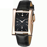 New Luxury Brand Quartz Wristwatch leather Strap_8