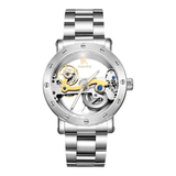 Colouring Automatic Mechanical Watch Dial Hollow Skeleton_10