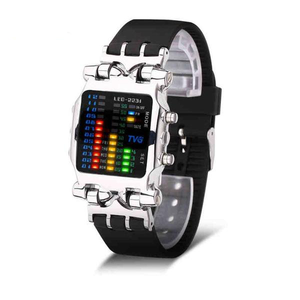 Luxury Brand TVG Watches Men Fashion Rubber Strap LED Digital Watch_1