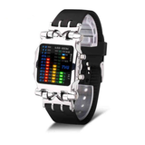 Luxury Brand TVG Watches Men Fashion Rubber Strap LED Digital Watch_4