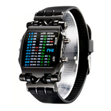 Luxury Brand TVG Watches Men Fashion Rubber Strap LED Digital Watch_5