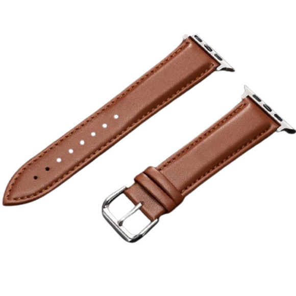 Genuine Leather Watchband 38mm 40mm_1