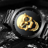 GIMTO Cool Skull Dial Men Watch_8