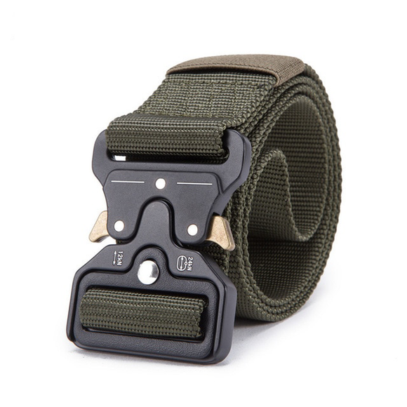 Mens Tactical Belt Military Nylon Belt Outdoor_1