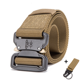 Mens Tactical Belt Military Nylon Belt Outdoor_5