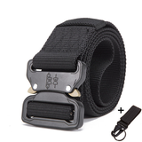Mens Tactical Belt Military Nylon Belt Outdoor_4