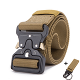 Mens Tactical Belt Military Nylon Belt Outdoor_3