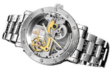 IK Colouring Automatic Mechanical Watch Dial Hollow Skeleton_9