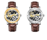 IK Colouring Automatic Mechanical Watch Dial Hollow Skeleton_8