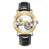 IK Colouring Automatic Mechanical Watch Dial Hollow Skeleton_2