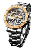 IK Colouring Automatic Mechanical Watch Dial Hollow Skeleton_3