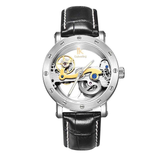 Colouring Automatic Mechanical Watch Dial Hollow Skeleton_11