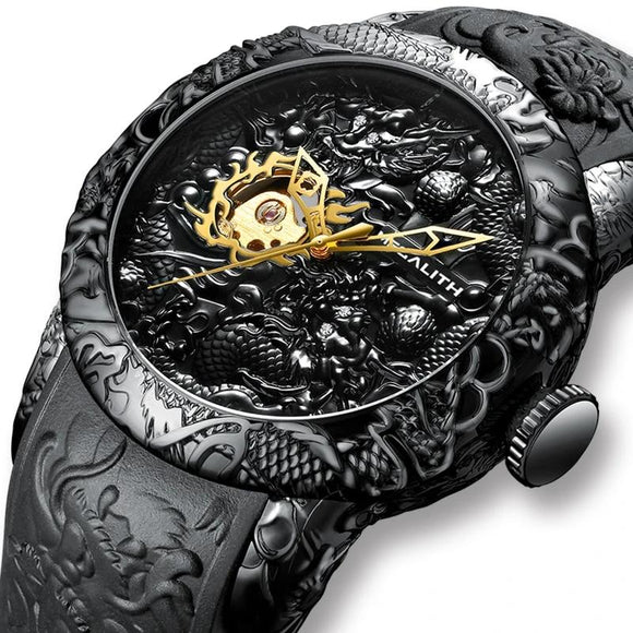 Dragon Sculpture Watch_1