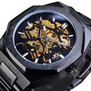 Fashion Automatic Skeleton Watch_1