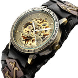 Gothic Bronze Skeleton Automatic Watch_1