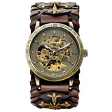 Gothic Bronze Skeleton Automatic Watch_2