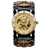 Gothic Bronze Skeleton Automatic Watch_3
