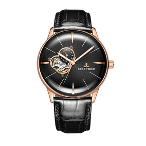 Luxury Tourbillion Rose Gold Watch_1