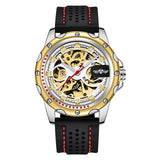 Skeleton Automatic Mechanical Watches_2