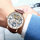 Skeleton Mechanical Automatic Watch_5