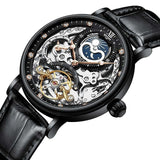 Skeleton Mechanical Automatic Watch_2