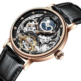 Skeleton Mechanical Automatic Watch_4