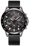 Chronograph Mens Watches Stainless Steel_8