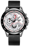 Chronograph Mens Watches Stainless Steel_9