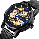 Automatic Hollow Mechanical Creative Men Wristwatches 9199_1