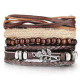 Handmade Wood Trendy Vintage Fashion Bracelets_11