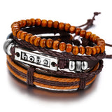 Handmade Wood Trendy Vintage Fashion Bracelets_4