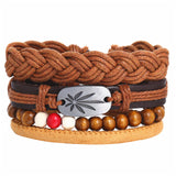 Handmade Wood Trendy Vintage Fashion Bracelets_5