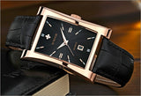New Luxury Brand Quartz Wristwatch leather Strap_7